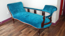 Traditional and modern upholstery