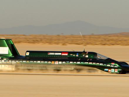 British steam car breaks land speed record