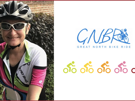 Professor to cycle 60 miles to give back to the Newcastle charity supporting her research.