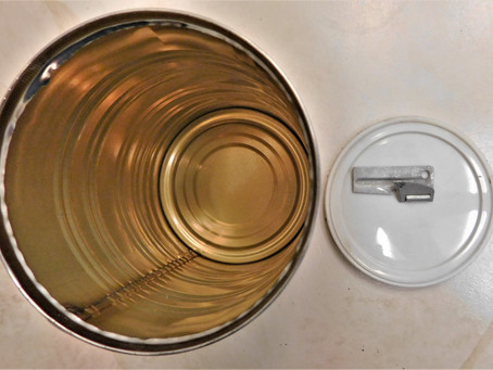Wait.  It's an empty tin can.  On a holster blog