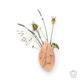 Tableau empreinte florale