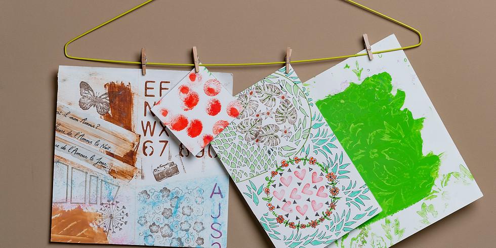 Apéro créatif - Les papiers créatifs