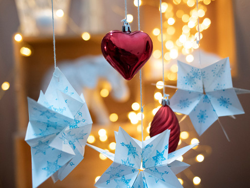 Tuto les étoiles de Noël