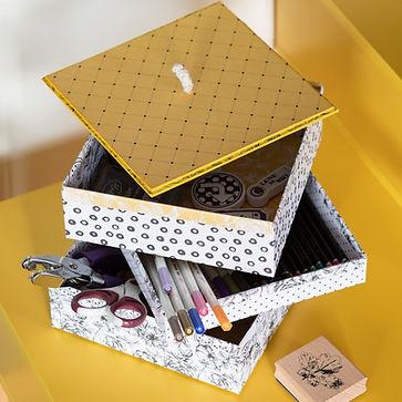 Les boîtes 3 plateaux