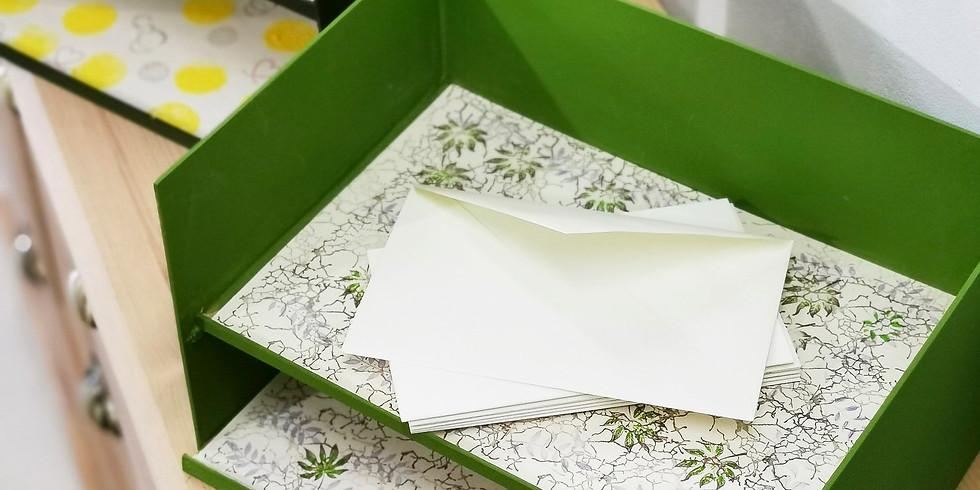 Fabriquer sa boite à courriers (2 sessions)