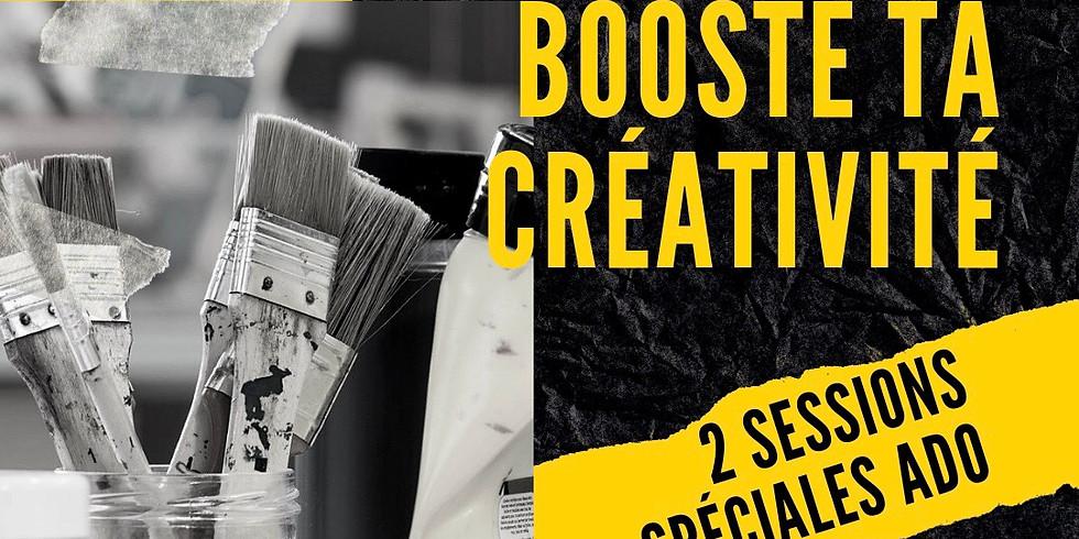 2 jours  pour les ados «booste  ta créativité «