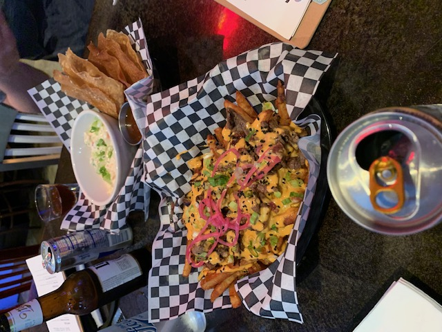 Korean BBQ Loaded French Fries