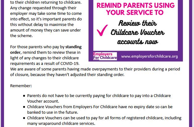 Childcare Vouchers!