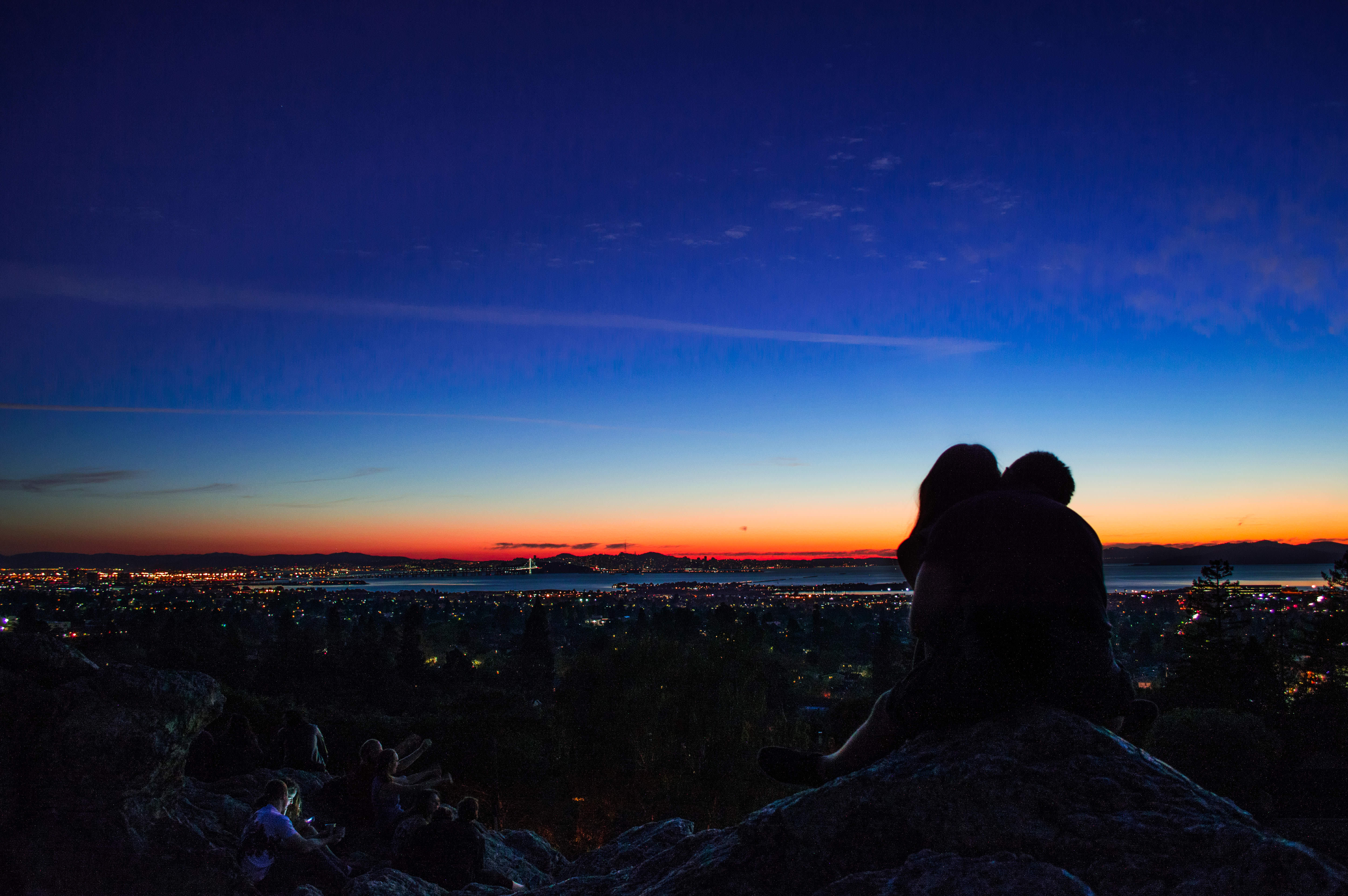 couples sunset