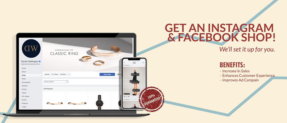 instagram and facebook shop