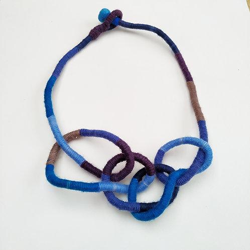 Colar Rizoma Azul