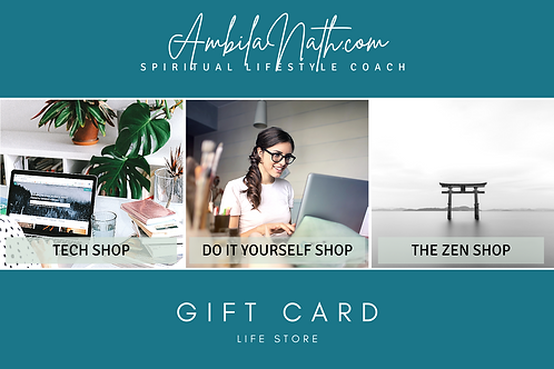 Life Store Gift Card10