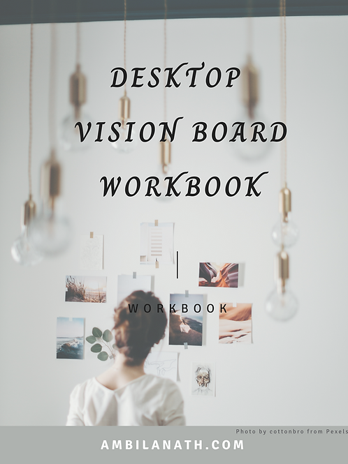Desktop Vision Board Workbook