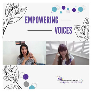 Apr 2021 - Empowering Voices
