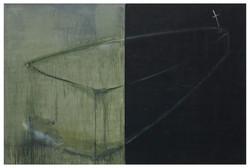 遠方之死 Death in Distance 83-03 1982-1983 油彩、畫布 200cm x 300cm