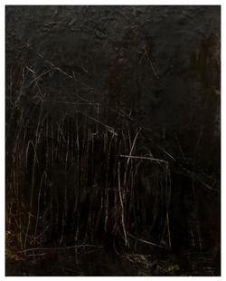 故鄉(吊橋I) Home (Bridge I) 98-01 1997-1998 油彩、畫布 127cm x 102cm