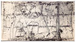 尋 Search 1964 油彩、畫紙 50cm x 91cm