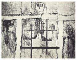 窄門 Strait is the Gate 1965 油彩、複合媒材 127cm x152cm