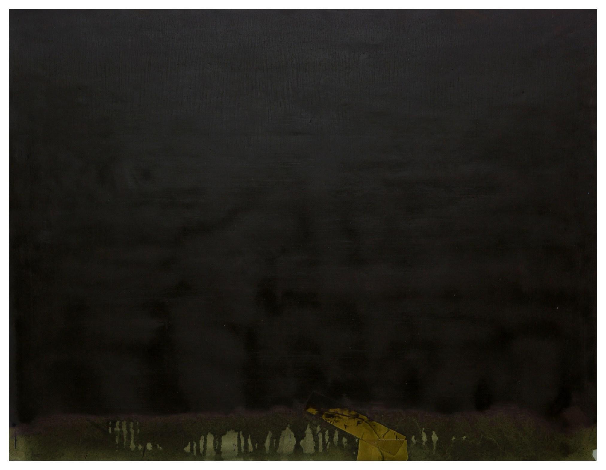 淨化之夜 Transfigured Night 90-09 1990 油彩、畫紙 97cm x 127cm