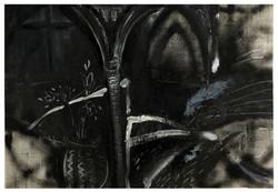 巴黎聖母院 Notre Dame de Paris 1982 油彩、畫紙 75cm x 108cm