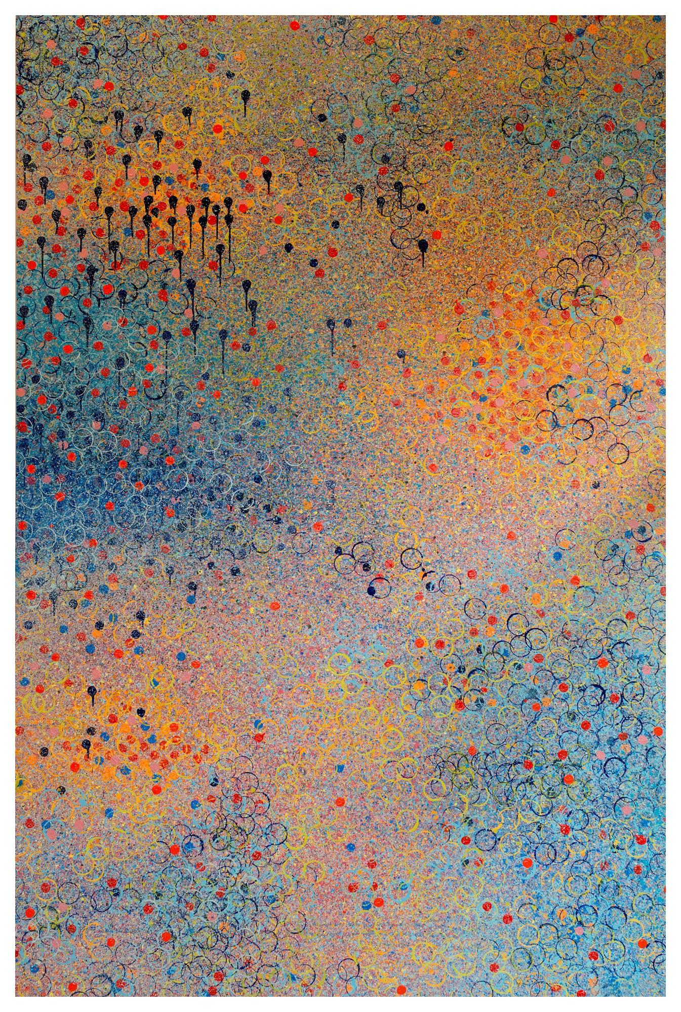 乘著歌聲的翅膀  On Wings of Song 15-14 2015 油彩、畫布 300cm x 200cm