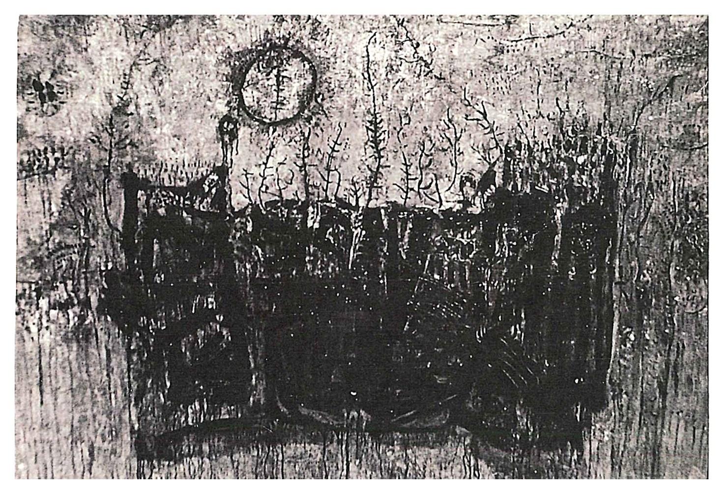 淨化之夜 Transfigured Nigh 1965 油彩、畫布 124cm x 178cm