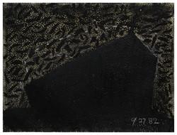 無題 Untitled 1982 油彩、畫紙 57cm x 75cm