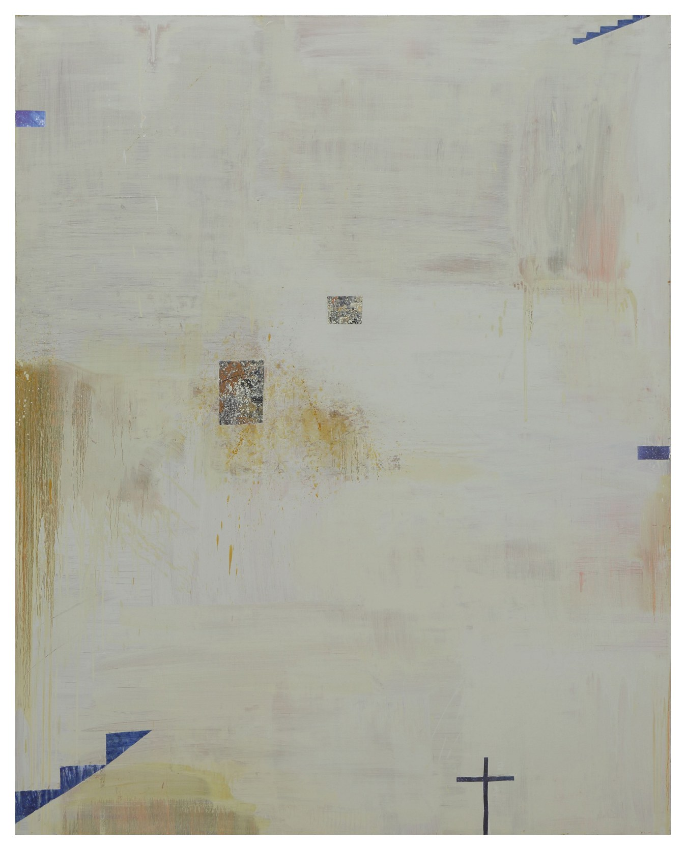 廊香教堂 Ronchamp 03-01 2003 油彩、畫布 230cm x 190cm