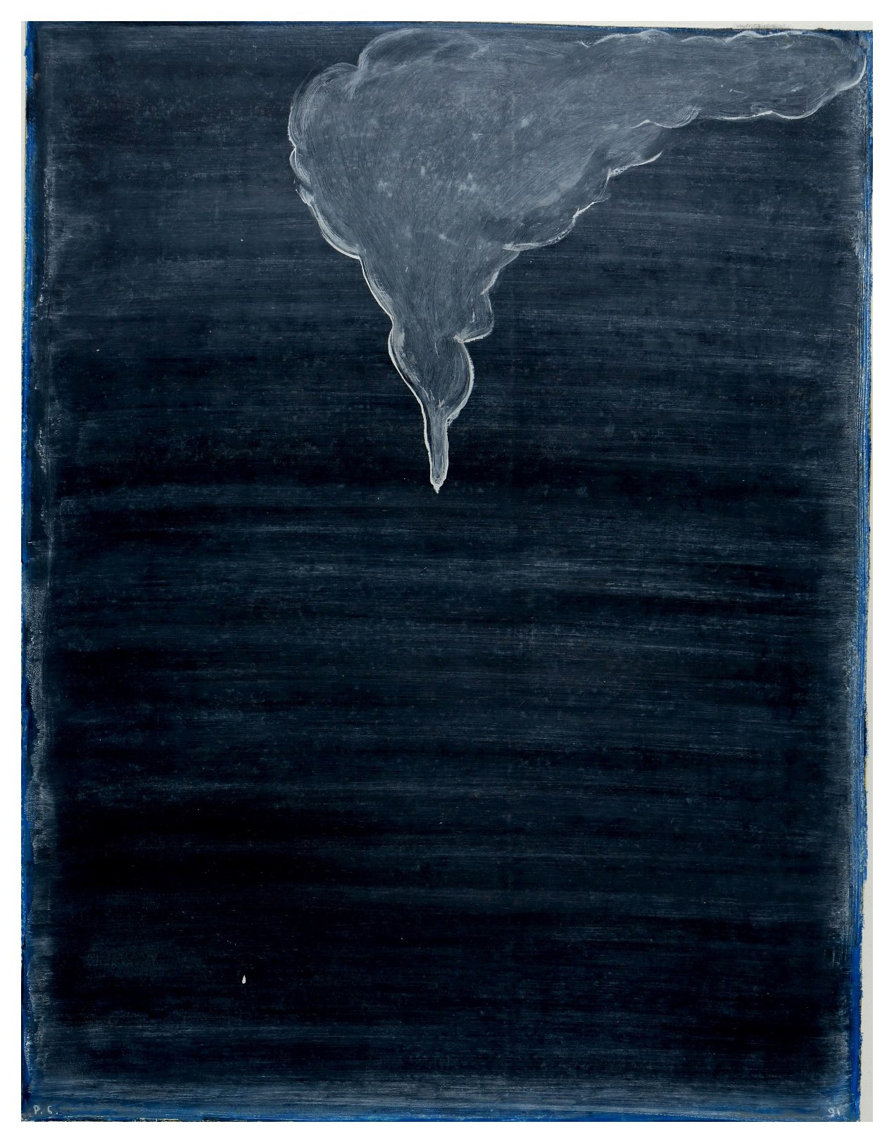 無題 Untitled 2001-2003 油彩、畫紙 70cm x 54cm