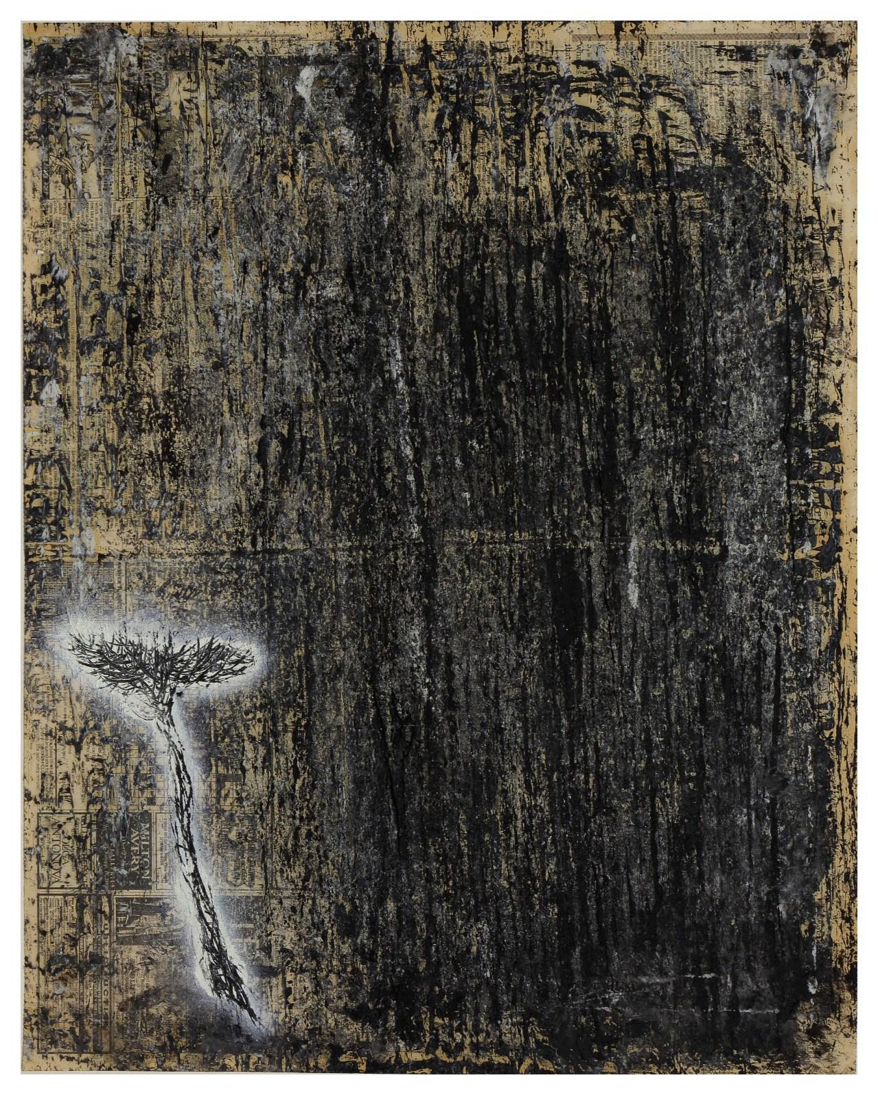 淨化之夜 Transfigured Night 90-11 1990 油彩、畫紙 70cm x 55cm