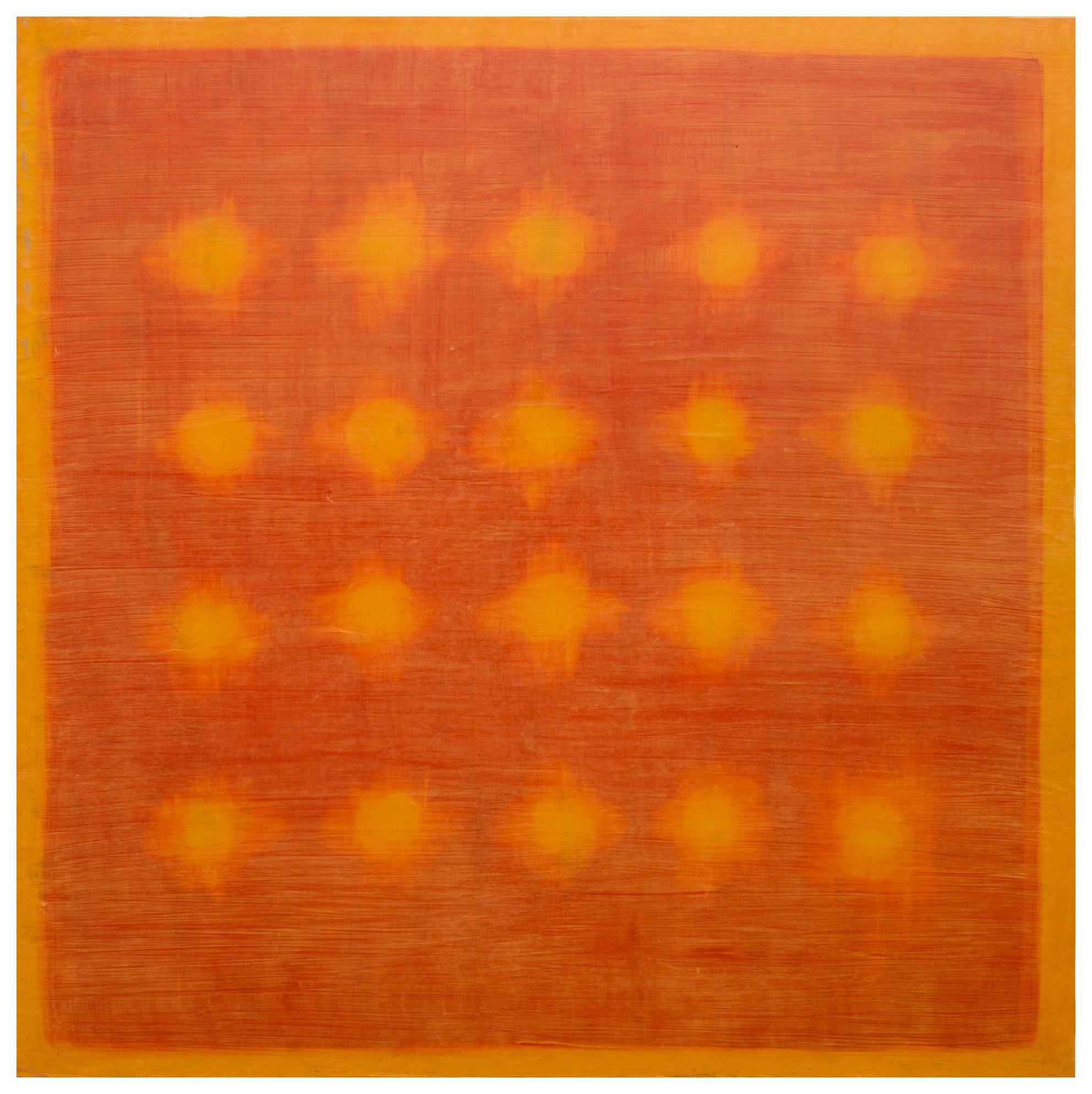 對永恆的冥想 Meditation on Eternity 04-20 2004 油彩、畫布 200cm x 200cm