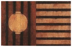 故鄉 Home 98-02 1997-1998 油彩、畫布 130cm x 203cm