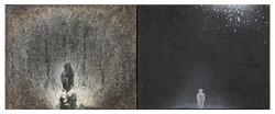巴黎聖母院 Notre Dame de Paris 02-02 1982-2002 油彩、畫布 40cm x 100cm