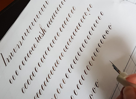 My Copperplate Journey - Part 2