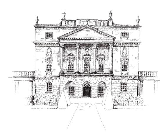 Holburne Museum, Bath. Pen
