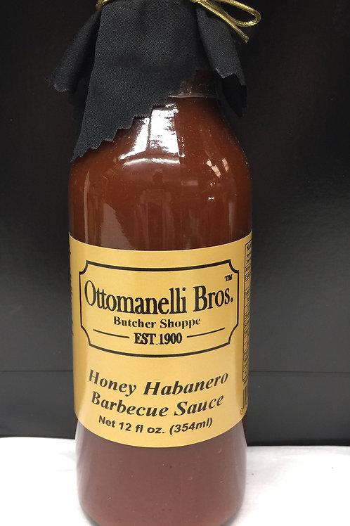 Honey Habanero Barbecue Sauce
