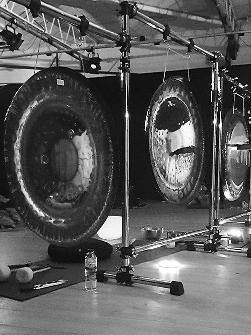 Gong Bath With Alex and Suzanne Friday 27th September 2019 7-9pm