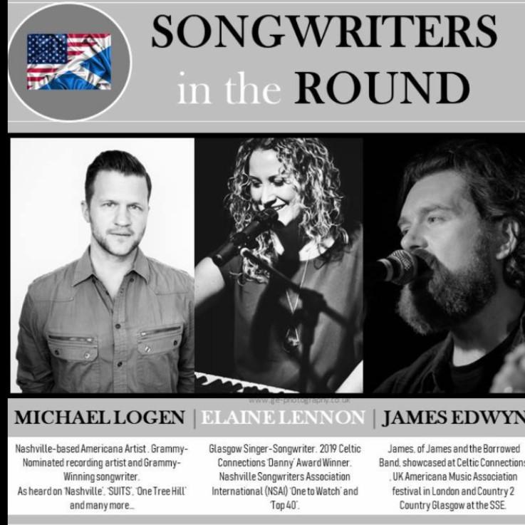 Songwriters in the Round: Michael Logen, Elaine Lennon, James Edwyn