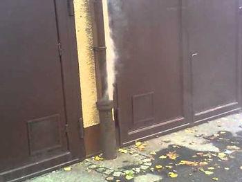 Test de fumée Montréal - Exterminateur rats égout Montréal - Détection de fuite dans la plomberie test fumée - Smoke test plumbing rat Montreal