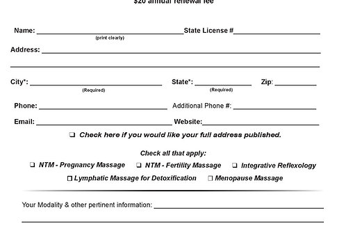 Website referral listing