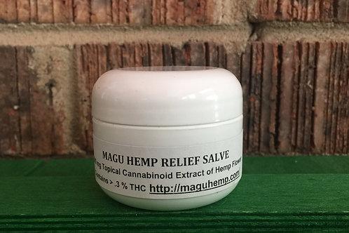 Magu Hemp Relief Salve 500 mg (1 oz.)