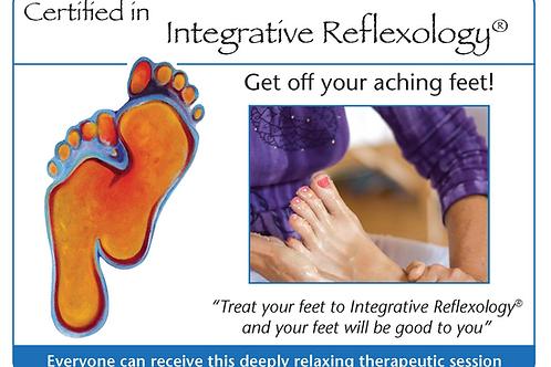 Integrative Reflexology® Marketing Card TEMPLATE