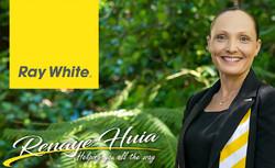 Signmee Sponsor - Thank you, Ray White Renaye Huia