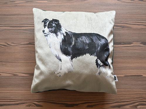 Border Collie Cushion