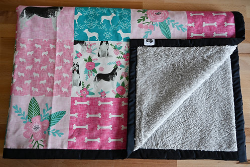 Amstaff/Husky Universal Dog Blanket