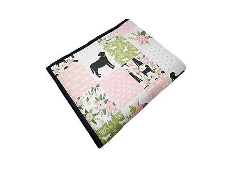 Labrador Universal Dog Blanket-Pink