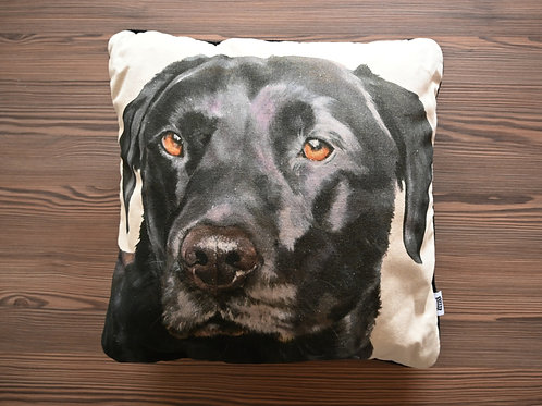 Labrador patterned Cushion