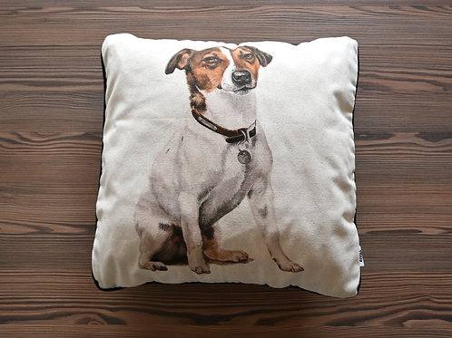 Jack Russel Terrier patterned Cushion