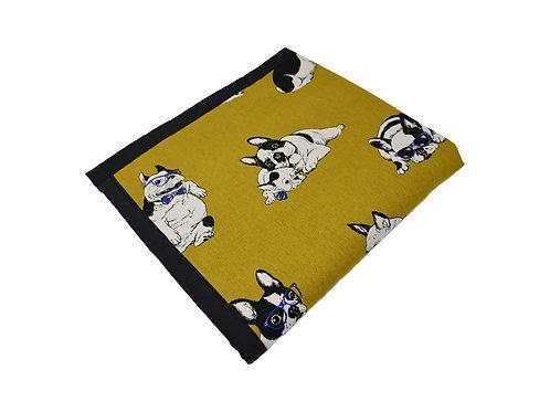 Frenchie Universal Dog Blanket - Green
