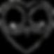 heartshapedassblacktransparent.png